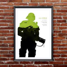 "Aliens Movie Poster 12X18"" by Pixology on Etsy https://www.etsy.com/listing/222190495/aliens-movie-poster-12x18"
