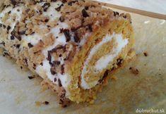 Mrkvová roláda Banana Bread, Desserts, Food, Anna, Meal, Hoods, Dessert, Postres, Deserts