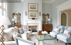 Mix and Chic: Home tour- An elegant Georgian-style home!