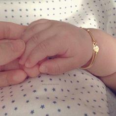 Gold baby bracelet