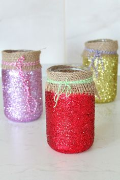 DIY JAR LUMINARIES -