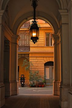 Lantern Arch, Rome, Italy