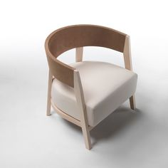 Flexform Antony Armchair - Style # 5B01, Modern Armchair - Contemporary White Armchair - Leather Armchair - Swivel Armchair | SwitchModern.c...