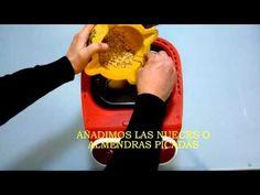 Pan de miel y nueces. Utilizamos de nuevo la panificadora Moulinex OW310130 - YouTube