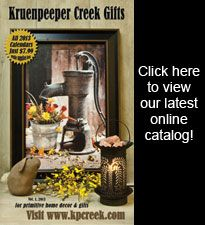 Kruenpeeper Creek Country Gifts...great place to shop