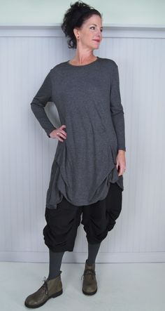 Moyuru Bray Tunic/Dress and Gateshead Trouser with R.B.L. Swing Ankle Boot Hats and Haberdashery