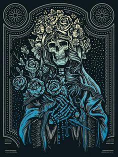 La novia skull