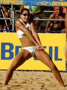 girl pussy volleyball playing