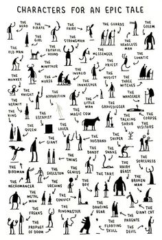 literary analysis made approachable by Tom Gauld