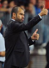 Barcelona's Josep Guardiola has won the Spanish league, cup and Champions League with the formation