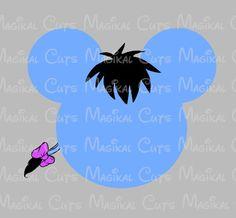 Eeyore Mouse Head SVG, Studio, EPS, and JPEG Digital Downloads – Magikal Cuts