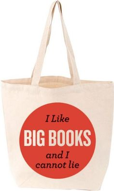 I Like Big Books and I Cannot Lie Tote (Lovelit): Amazon.de: Fremdsprachige Bücher