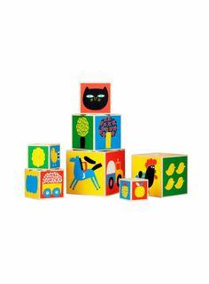 Raitti-laatikkotorni (moniväri) |Sisustustuotteet, Lastenhuone | Marimekko