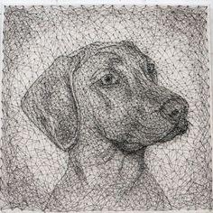 Creating an Unusual String Art Portrait, фото № 15 Pictures On String, Art Pictures, Arte Linear, Elementary Art Rooms, Nail String Art, String Art Patterns, Macrame Art, Pebble Art, Handmade Art