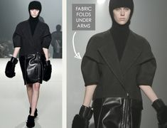 The Fullness and Shaping of Sleeves Part 3 | The Cutting Class. Alexander Wang, AW13, New York, Image 1.