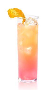 X-Rated®  Sunrise ::  2 parts X-Rated® Fusion  Liqueur® • 1 part of Cabo Wabo® Blanco Tequila • 2 parts Orange Juice. Mix & Serve in Highball with lots of ice :: Pink Summer Drinks