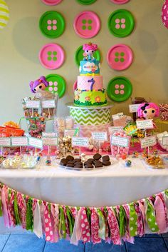 LalaLoopsy Birthday Party Ideas | Photo 44 of 73 | Catch My Party