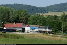 RailPictures.Net Photo: CD 754 039 6 Ceske Drahy CD 754 at Mezipotoci, Czech Republic by Jaroslav Dvorak