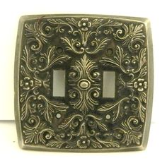 Mid century modern Light switch cover plate Bronze by luvredford