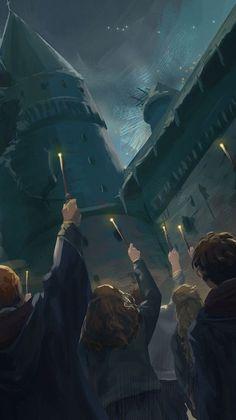 harry potter fan art wizarding world wizard witch hogwarts magic fantasy jk rowling potterhead dumbledore's death Harry Potter Tumblr, Harry Potter Anime, Harry Potter Fan Art, Harry Potter World, Images Harry Potter, Mundo Harry Potter, Harry Potter Universal, Harry Potter Fandom, Harry Potter Movies