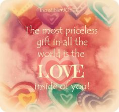 Thw love inside you