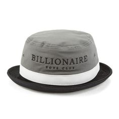 40b88639c933b Billionaires Boys Club Men s Break Bucket Hat - Grey Black White  Image 01