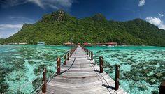 http://BeachCam.WorldVentures.Biz  Bohey Dulang Pier Panorama #YouShouldBeHere