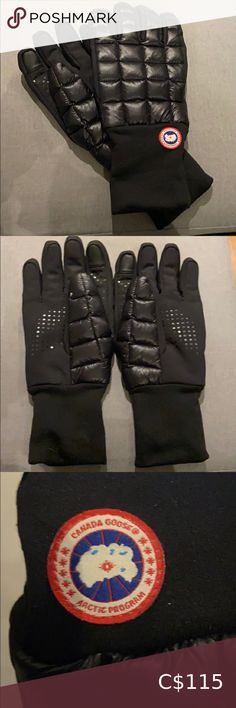 🇨🇦Canada Goose Gloves🇨🇦 Mens Canada Goose gloves WORN TWICE (been hidden away for a while). Condition: 9/10 Outer thumb on the right has a small dent but NOT NOTICEABLE. -Warm -Smartphone friendly for texting -Soft inside -Comfy Canada Goose Accessories Gloves L Agent Provocateur, Canada Goose Mens, Grey Sweater Dress, Mens Gloves, Texting, Vintage Leather, 9 And 10, All Black Sneakers, Baby Dolls