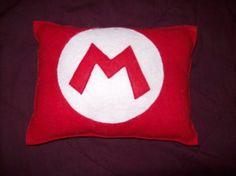mario pillow = sweet dreams for ben