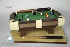 N1135 pool table cake toronto oakville