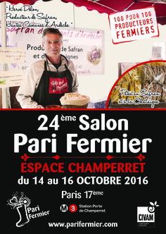 24ème salon Pari Fermier à Champerret (Paris 17ème)