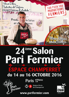 24ème salon Pari Fermier à Champerret (Paris 17ème)