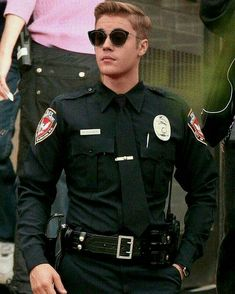 The Biebs really fills out this uniform very well!