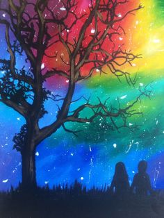 Come paint Star Gazers at Pinot's Palette! #stargazing #starpainting
