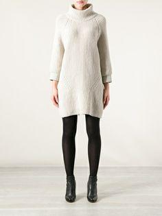 MAURO GRIFONI - chunky knit dress