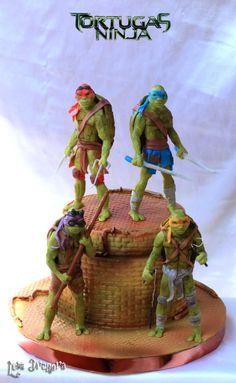 Ninja Turtle Birthday Cake, Turtle Birthday Parties, 5th Birthday, Birthday Ideas, Teenage Ninja, Teenage Mutant Ninja Turtles, Superhero Cake, Cakes For Boys, Tmnt