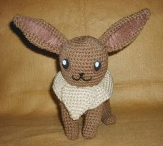 I choose you, Eevee! Check out this free Eevee pattern plus other Pokemon patterns by Wolf Dreamer.