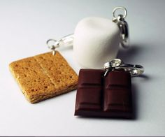 O'NeillsMore Charm Collection, Miniatur Essen Schmuck, Polymer Clay Lebensmittel Charms