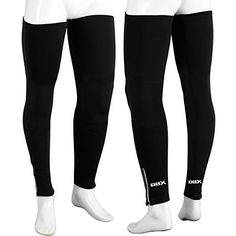 Women's Cycling Leg Warmers - Cycling Cycle Leg Warmer Thermal Roubaix Winter Knee Running Warmers SM  LXL *** You can find out more details at the link of the image.