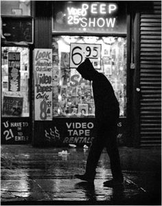 NYC. Times Square, New York City, c. 1989. by Matt Weber.