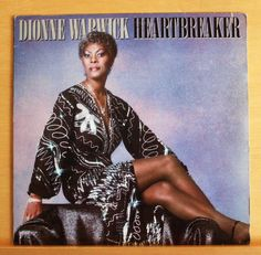 DIONNNE WARWICK Heartbreaker Vinyl LP - All the Love in the World Yours Top RARE