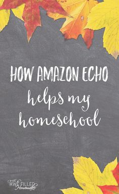 What on earth is the Amazon Echo & how could it possibly help with your homeschool & parenting? I am showing how this little invention helps us so much!  via @AFHomemaker Home Learning, Learning Activities, Activities For Kids, Parenting Articles, Parenting Advice, Homeschool Curriculum, Homeschooling Resources, Best Blogs, Amazon Echo