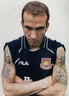 LEGEND: Paolo Di Canio was damaged goods when Harry Redknapp took a gamble on bringing him to West Ham in January 1999. He was to leave under the worst possible circumstances too, his 89th-minute equaliser at Birmingham on the last day of the 2002-03 season not being enough to save the Irons from the drop. His 48 League goals in 118 games were probably all classics. As an entertainer, the man was a genius