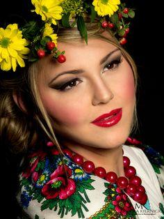 folk make-up  www.monikakiernicka.com