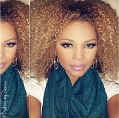 I'm obsessed with the thought of bleaching my hair! #hair #blonde #natural #curls #haircolor