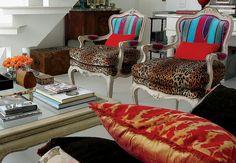 Animal print na decor!!! Veja mais no blog!!! http://milenegualberto.blogspot.com.br/2013/05/animal-print-na-decoracao.html