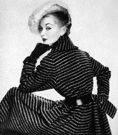 Evelyn Tripp for American Vogue, 1951.