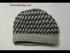Bandeau Crochet, Veronika Hug, Derby, Knooking, Tutorial, Sheep, Youtube, Garne, Beanies