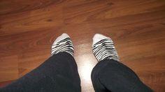 ♫ ♫ El mundo de Laia♫ ♫: Lemonade Attack Zebra Animal Print socks / Calcetines animal print blancos y negros - cebra