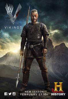 Vikings, uma série criada por Michael Hirst com Travis Fimmel, Katheryn Winnick: Ragnar Lothbrok (Travis Fimmel) é o maior guerreiro da sua era. Lider de seu bando, com seus irmãos e sua família, ele ascende ao poder e torna-se Rei da tribo dos vikings. Além de guerreiro implacável, Ragnar segue as tradições nórdicas e é...